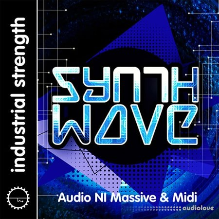 Industrial Strength Synth Wave WAV MiDi Synth Presets Battery