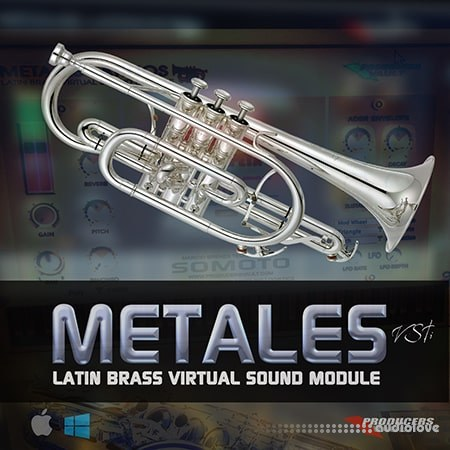 Producers Vault METALES Latin Brass Virtual Sound Module