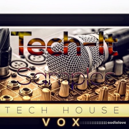 Tech-It Samples Tech House VOX WAV