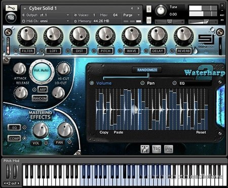 Sample Logic Waterharp 2 KONTAKT