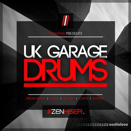 Zenhiser UK Garage Drums WAV