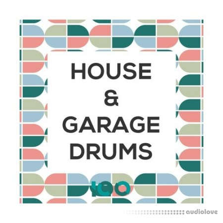 100 House and Garage Drums WAV