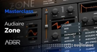 ADSR Sounds Zone by Audiaire Learn every feature and function