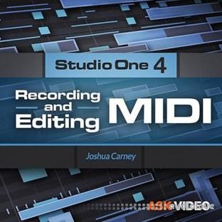 Ask Video Studio One 4 102 Recording and Editing MIDI