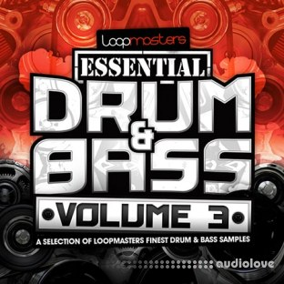 Loopmasters Essentials 41 Drum and Bass Vol.3
