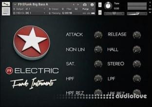 F9 Audio Electric Funk Instruments