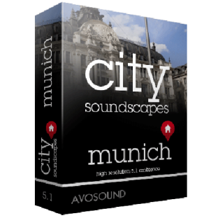 Avosound City Sounds Munich Atmospheres