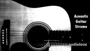 Dynamic Sound Sampling Acoustic Guitar Strumming