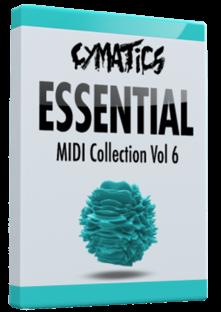 Cymatics Essential MIDI Collection Vol.6