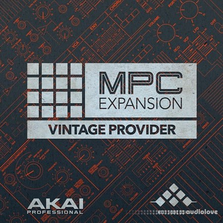 AKAI MPC Software Expansion Vintage Provider WAV