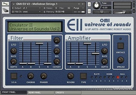 Rhythmic Robot Audio Emulator II OMI Universe of Sounds Vol.2 KONTAKT