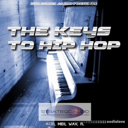 Strategic Audio The Keys To Hip Hop WAV MiDi DAW Templates