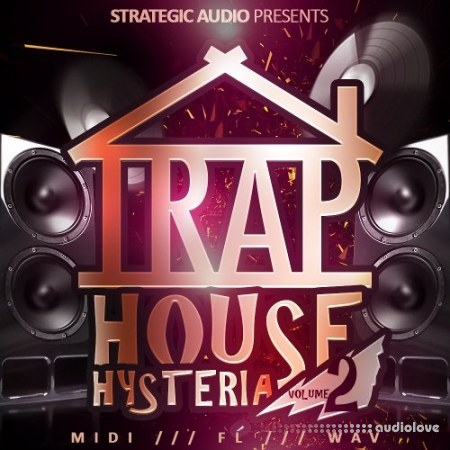 Strategic Audio Trap House Hysteria Vol.2 WAV MiDi DAW Templates