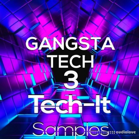 Tech-It Samples Gangsta Tech 3 WAV MiDi