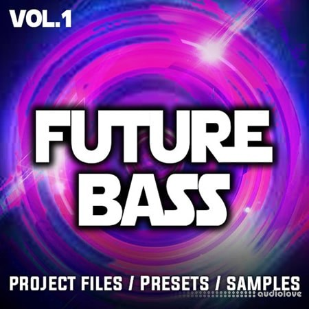 Ultrasonic Future Bass Sample Pack Vol.1 WAV Synth Presets DAW Templates