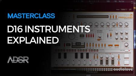 ADSR Sounds D16 Instruments Explained TUTORiAL