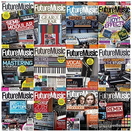 Future Music 2018 Full Year Issues Collection PDF