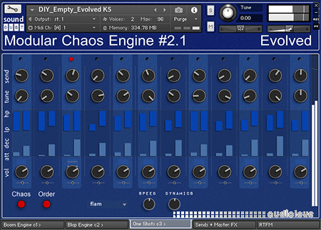 sound DUST Evolved Modular Chaos Engine #2.1 KONTAKT