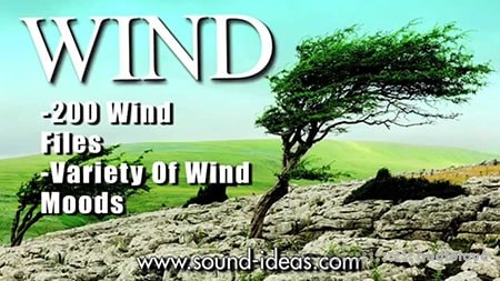 Sound Ideas Wind WAV