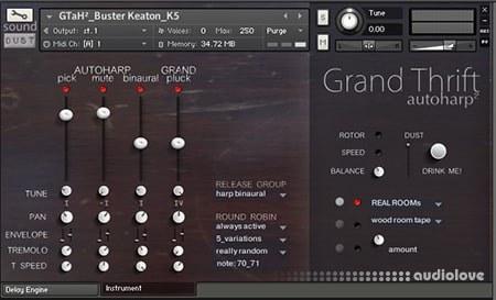 Sound Dust GrandThrift autoHarp² KONTAKT