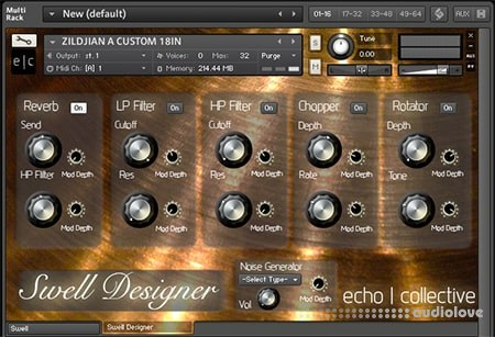 Echo Collective Swell Full KONTAKT