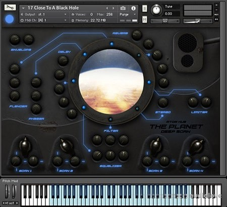 Atom Hub The Planet Deep Scan KONTAKT