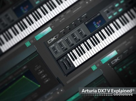 Groove3 Arturia DX7 V Explained TUTORiAL