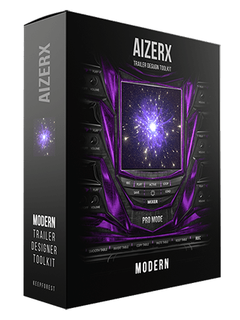 KeepForest AizerX Modern Trailer Designer Toolkit KONTAKT WAV
