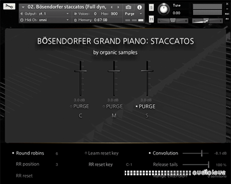 Organic Samples Boesendorfer Grand Piano Staccatos v1.1 KONTAKT