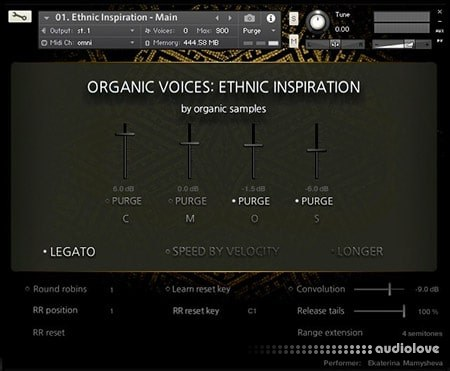 Organic Samples Organic Voices Volume 2 Ethnic Inspiration v1.1 KONTAKT