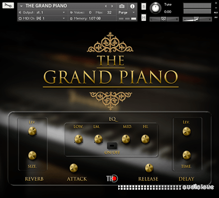 TH Studio Production THE GRAND PIANO KONTAKT