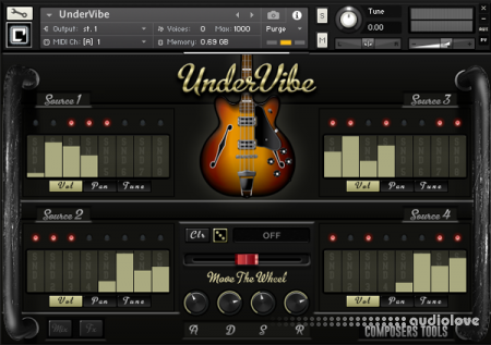 Composers Tools UnderVibe KONTAKT