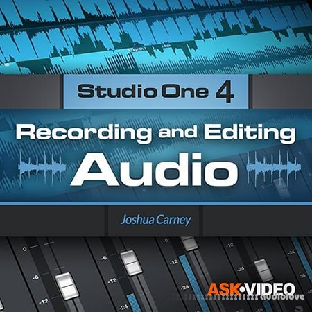Ask Video Studio One 4 103 Recording and Editing Audio TUTORiAL