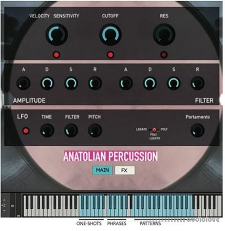 Rast Sound Anatolian Percussion v2 KONTAKT