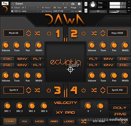Ecliptiq Audio DAWN v1.2 KONTAKT