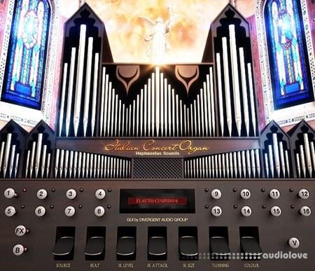 Hephaestus Sounds Italian Concert Organ v2.0 KONTAKT