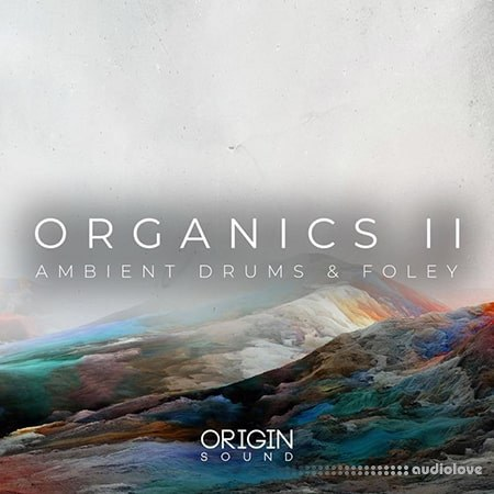Origin Sound Organics II Ambient Drums And Foley WAV MiDi