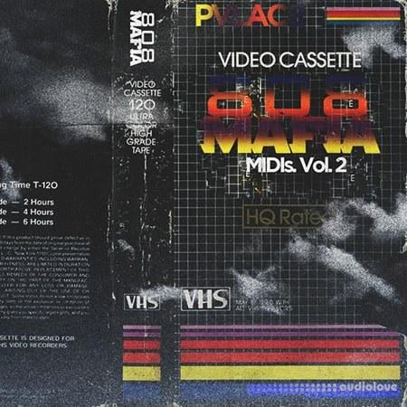 PVLACE 808 Mafia MIDIs Vol.2 WAV MiDi