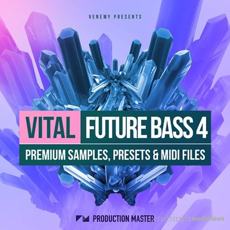 Production Master Vital Future Bass 4 WAV MiDi Synth Presets