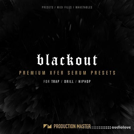 Production Master Blackout MiDi Synth Presets