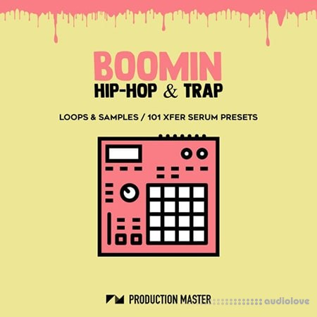 Production Master Boomin Hip Hop And Trap WAV Synth Presets