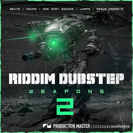 Production Master Riddim Dubstep Weapons 2 WAV Synth Presets