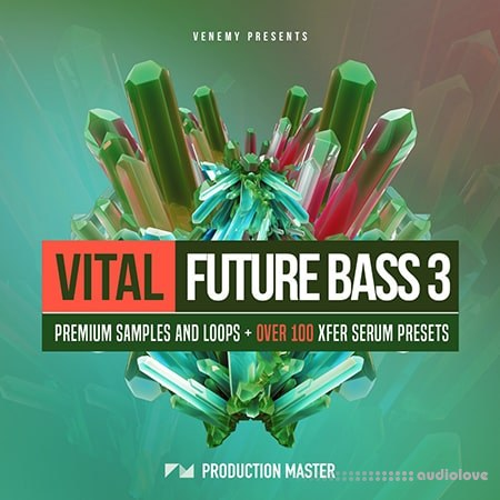 Production Master Vital Future Bass 3 WAV MiDi Synth Presets