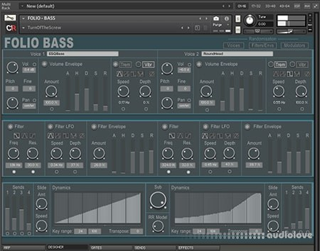 Channel Robot Folio Bass v1.1 KONTAKT