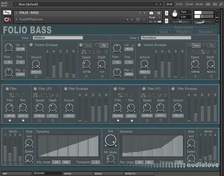 Channel Robot Folio Bass v1.1 KONTAKT