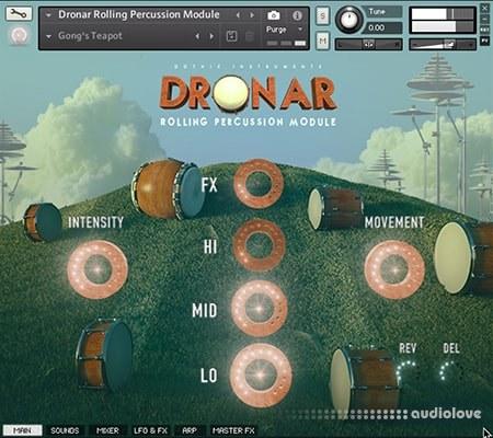 Gothic Instruments Dronar Rolling Percussion Module KONTAKT
