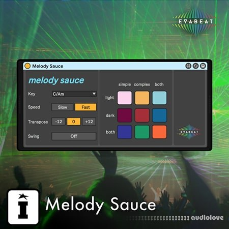 Isotonik Studios Evabeat Melody Sauce Melody Generator v1.0.2 Max for Live