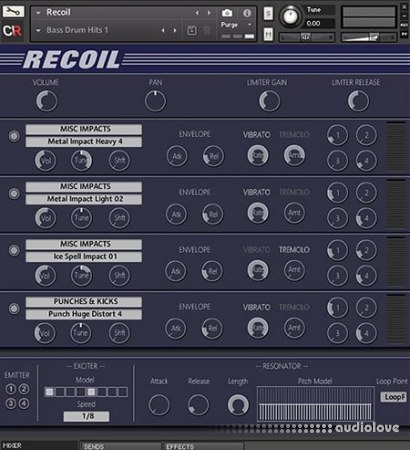 Channel Robot Recoil v1.01 KONTAKT