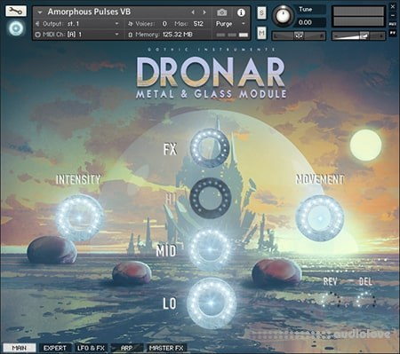 Gothic Instruments DRONAR Metal and Glass KONTAKT