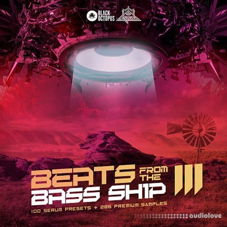 Black Octopus Sound Beats From The Bass Ship 3 WAV Synth Presets